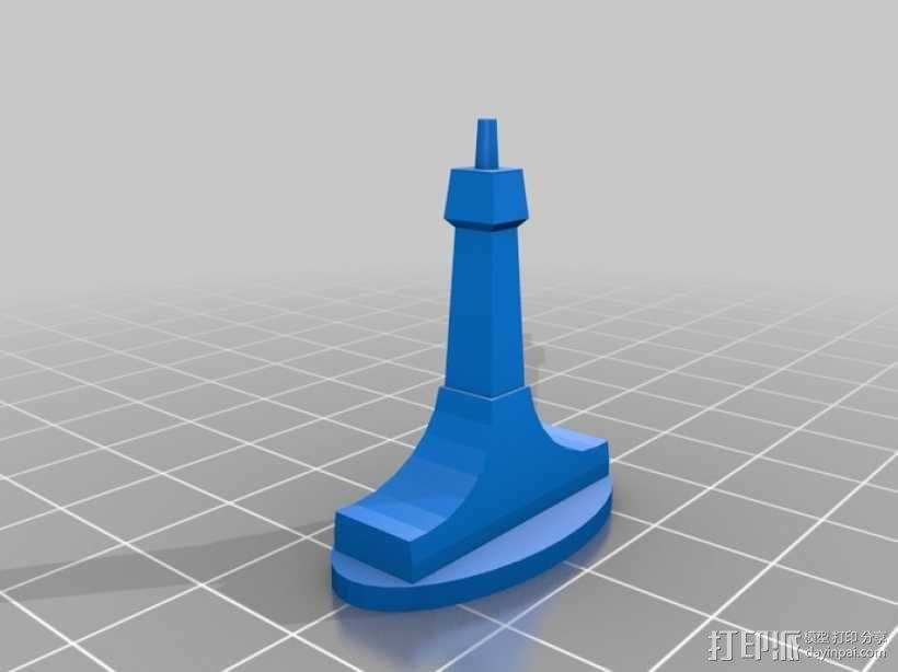钢琴 3D模型  图7