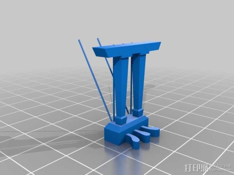 钢琴 3D模型  图10