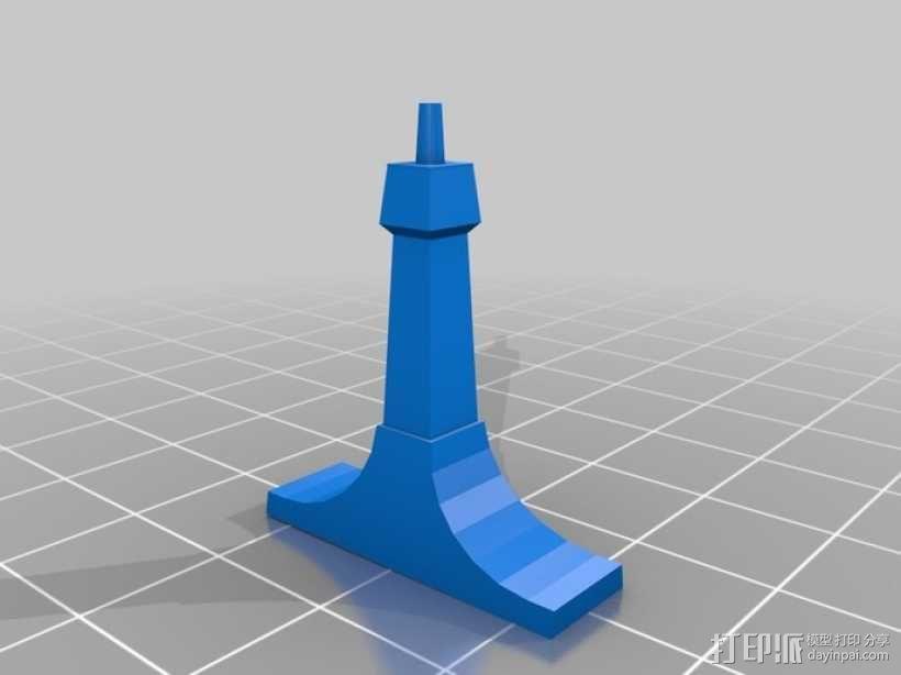 钢琴 3D模型  图9