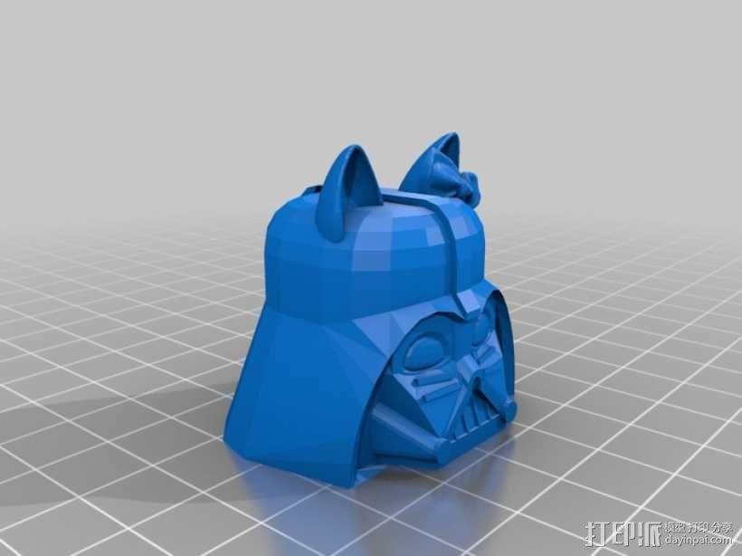 达斯维达kitty猫 3D模型  图3