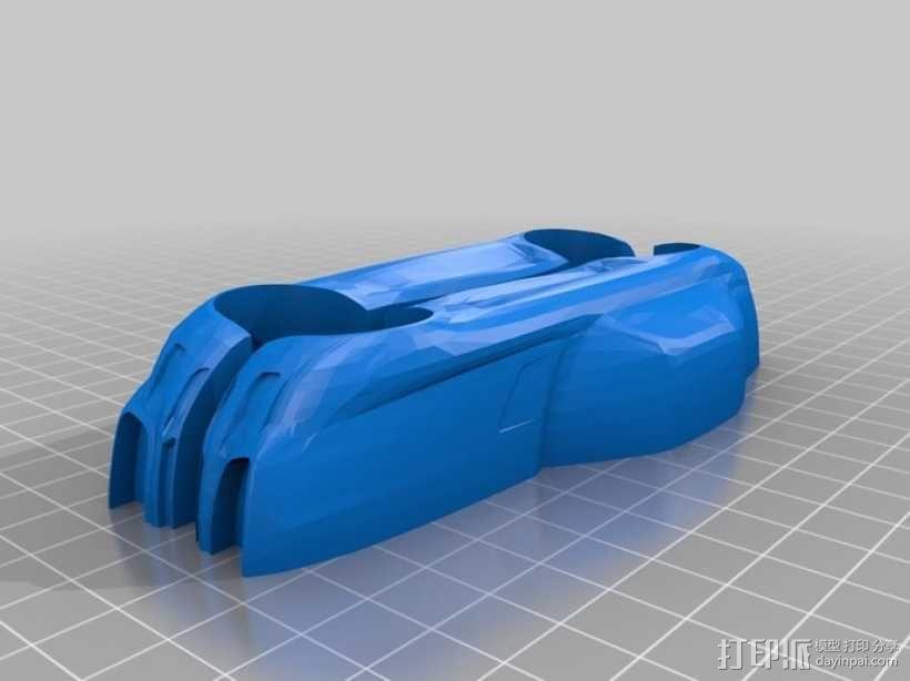 梅赛德斯跑车 3D模型  图1