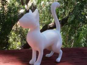 猫 3D模型