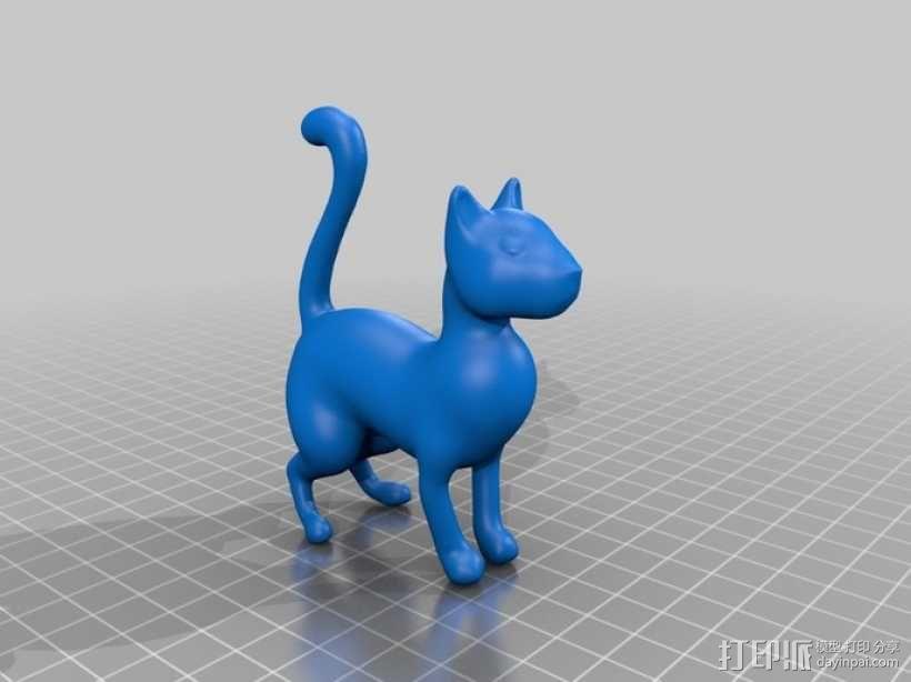 猫 3D模型  图2