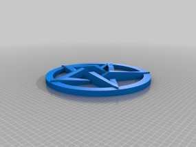 五角星 3D模型