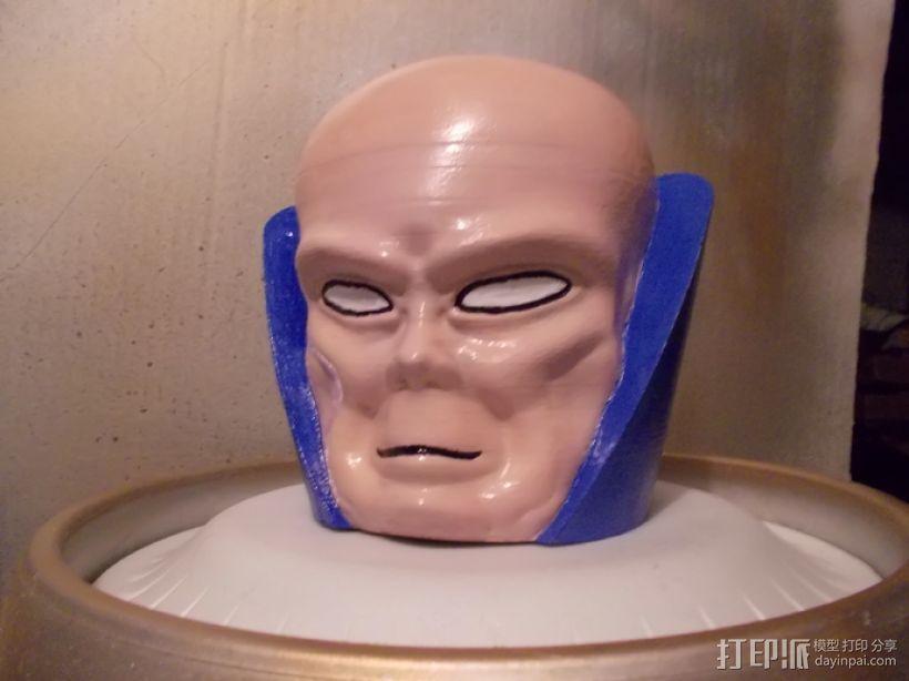观测者Uatu 人物头部模型 3D模型  图1