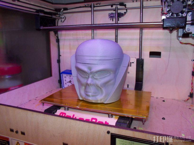 观测者Uatu 人物头部模型 3D模型  图3