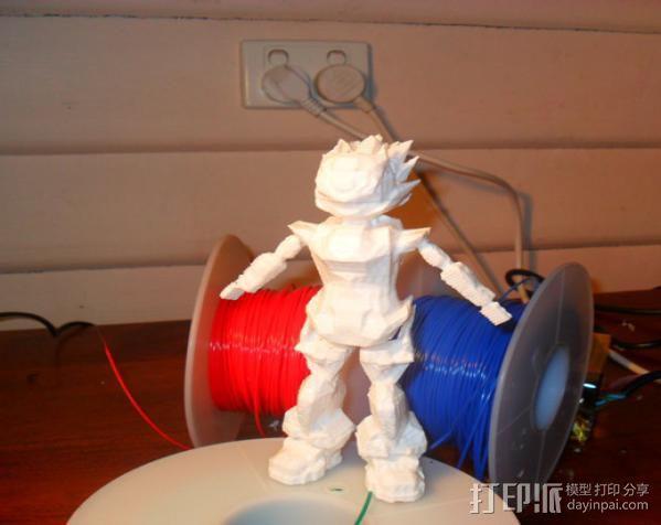 Bobu-San日本动漫造型 3D模型  图2