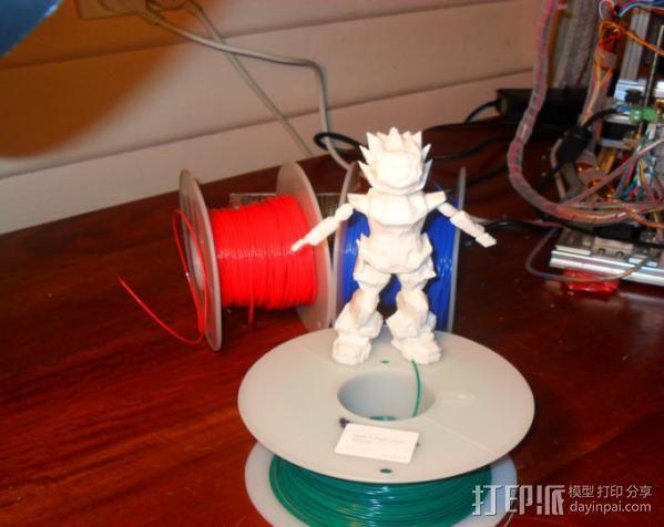 Bobu-San日本动漫造型 3D模型  图4
