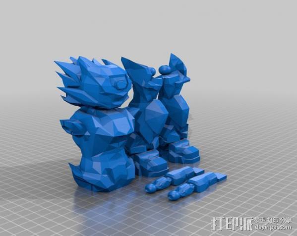 Bobu-San日本动漫造型 3D模型  图5