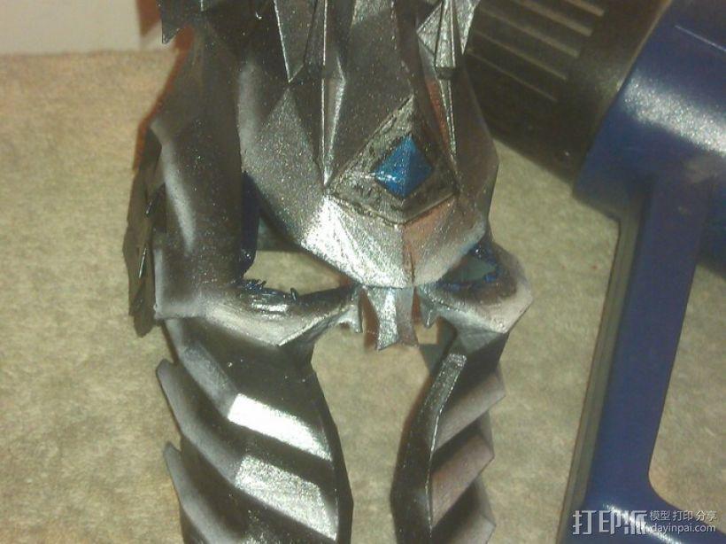 巫妖王头盔 3D模型  图1