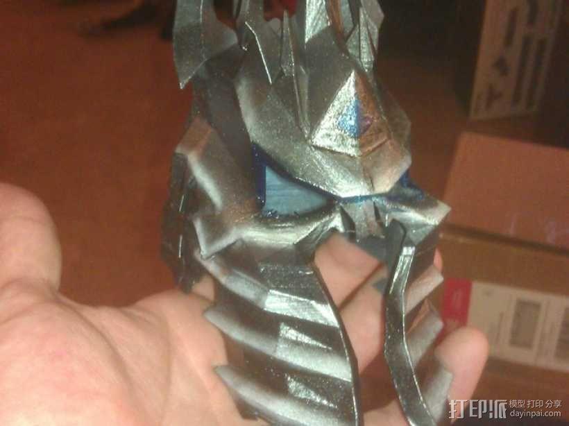 巫妖王头盔 3D模型  图3