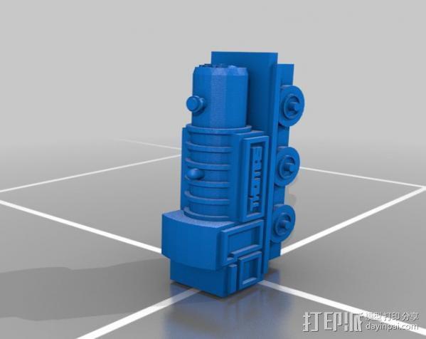 玩具火车 3D模型  图1
