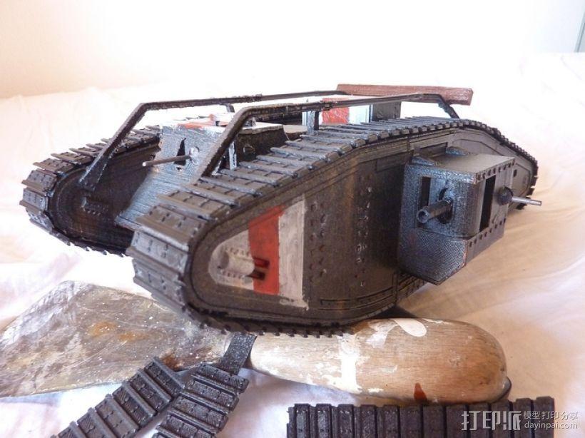 英国马赫坦克 3D模型  图1