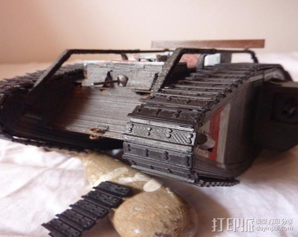 英国马赫坦克 3D模型  图2