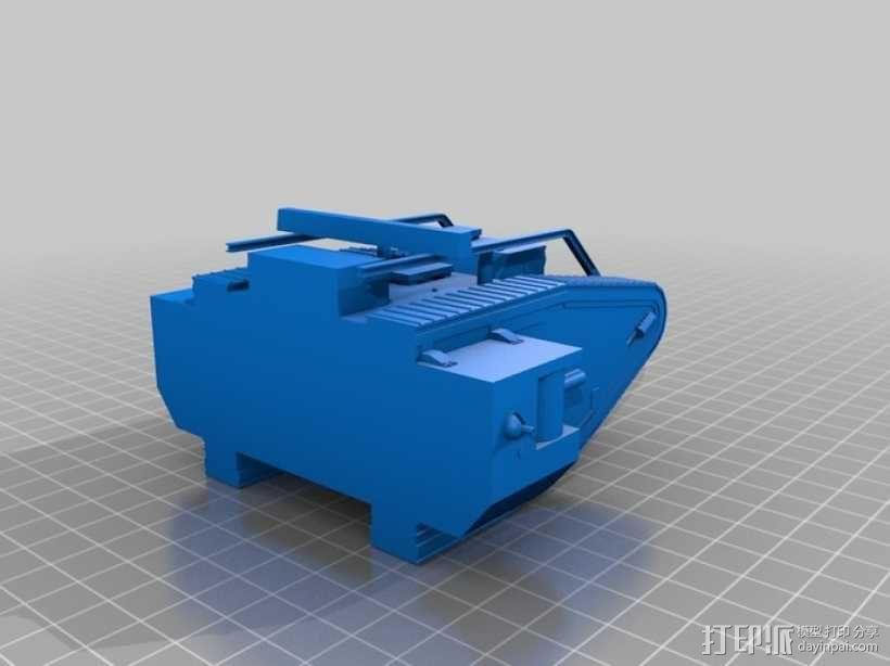 英国马赫坦克 3D模型  图7