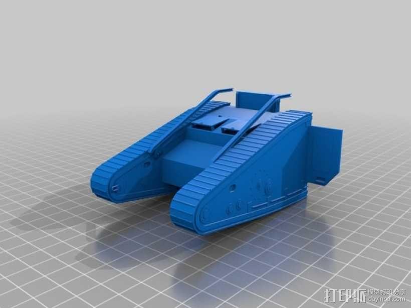 英国马赫坦克 3D模型  图8