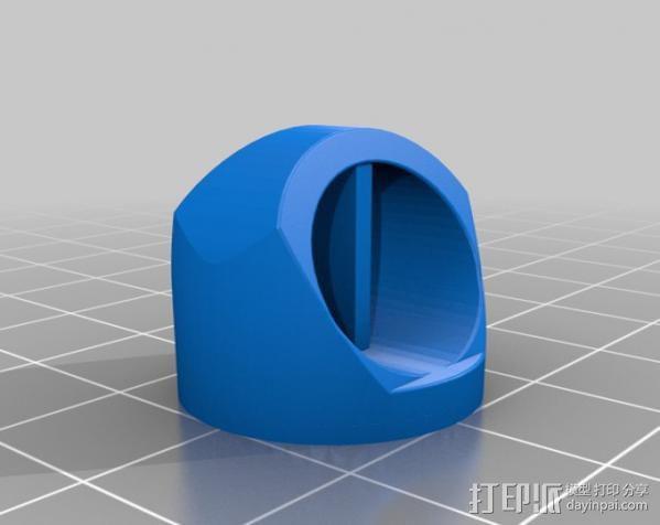 七灯军团指环 3D模型  图4