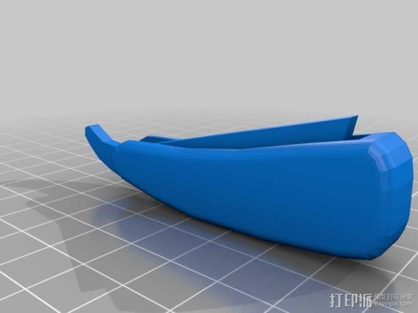 理发剃刀  3D模型  图3