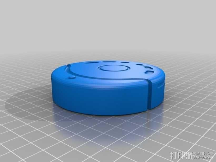 清洁机器人 3D模型  图2