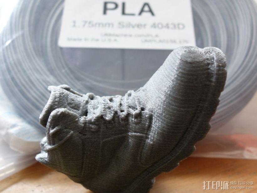 工装靴 靴子 3D模型  图2