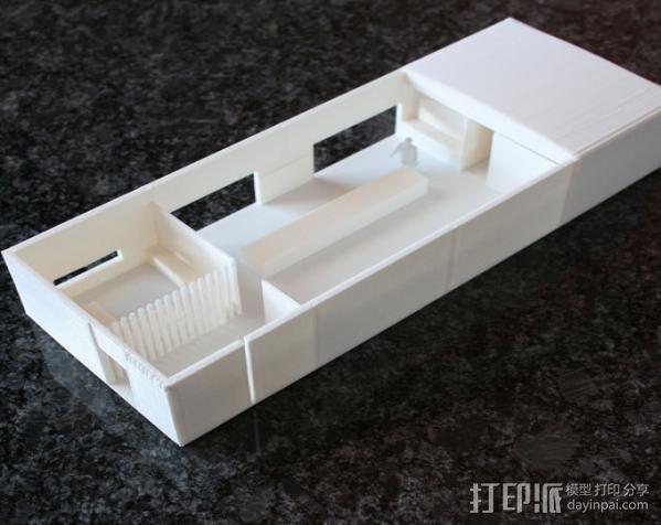 办公室建筑 房屋模型 3D模型  图3