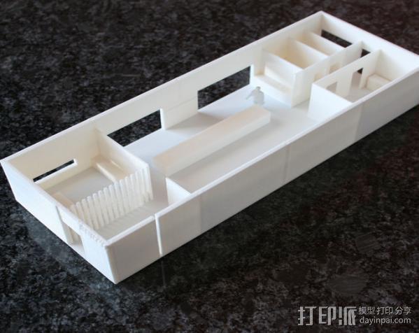 办公室建筑 房屋模型 3D模型  图2