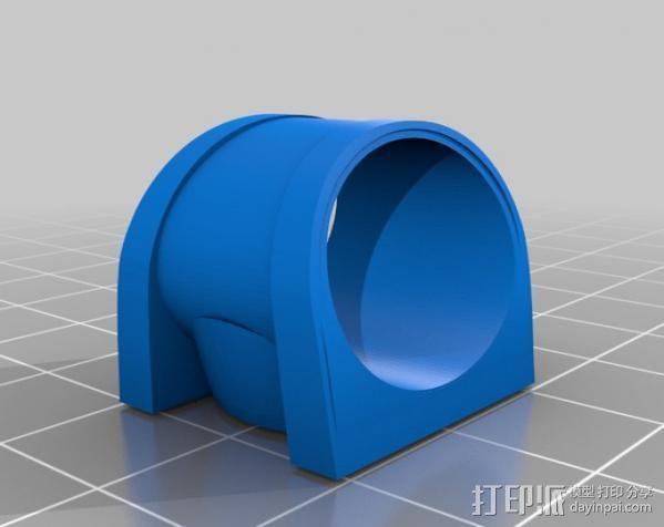 绿灯指环 3D模型  图2