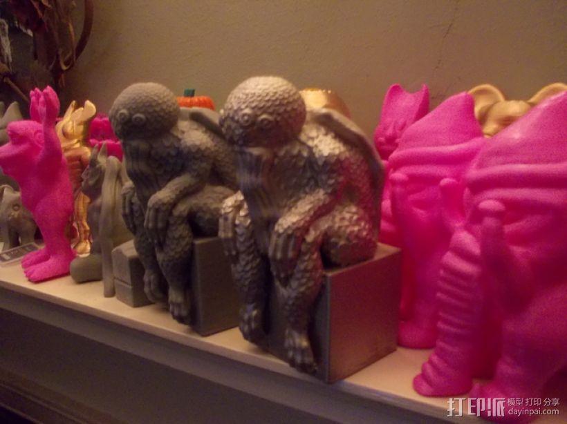 克苏鲁雕塑 3D模型  图2