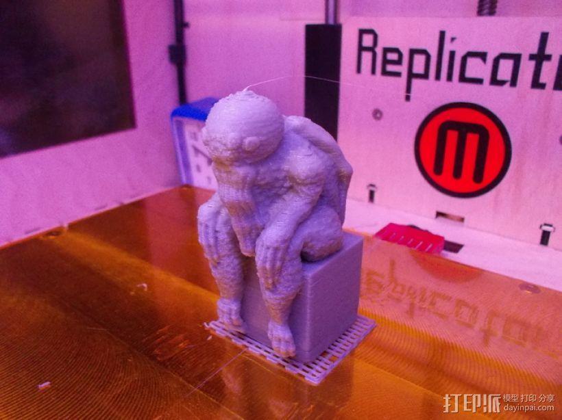 克苏鲁雕塑 3D模型  图4