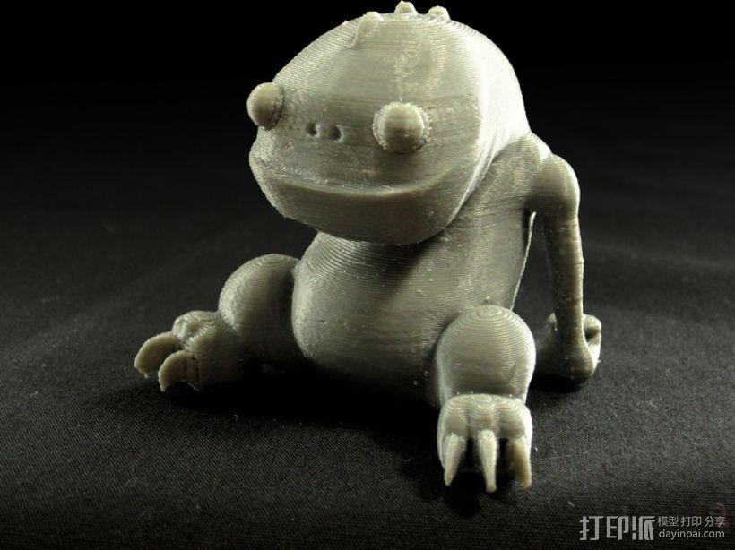 小青蛙blinky 3D模型  图1
