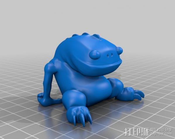 小青蛙blinky 3D模型  图2