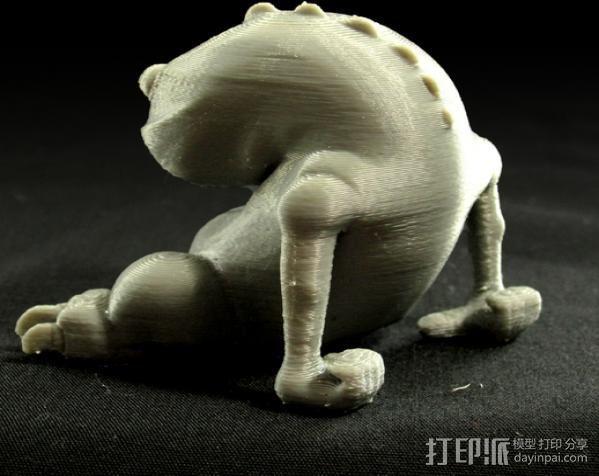 小青蛙blinky 3D模型  图4