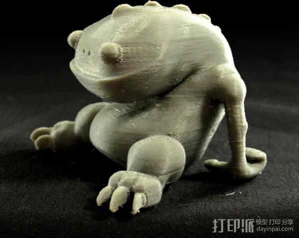 小青蛙blinky 3D模型  图5