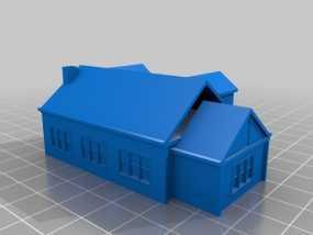 房屋模型 3D模型