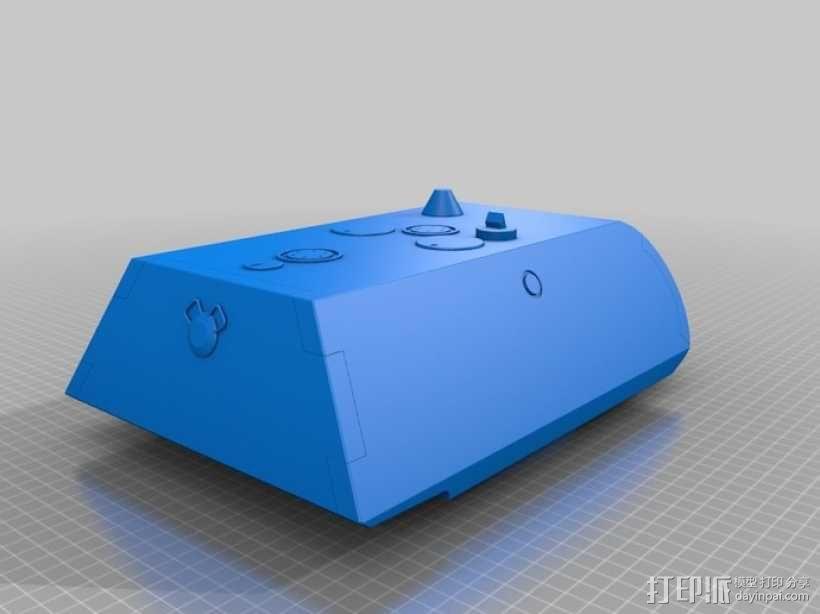 鼠式重型坦克 3D模型  图2