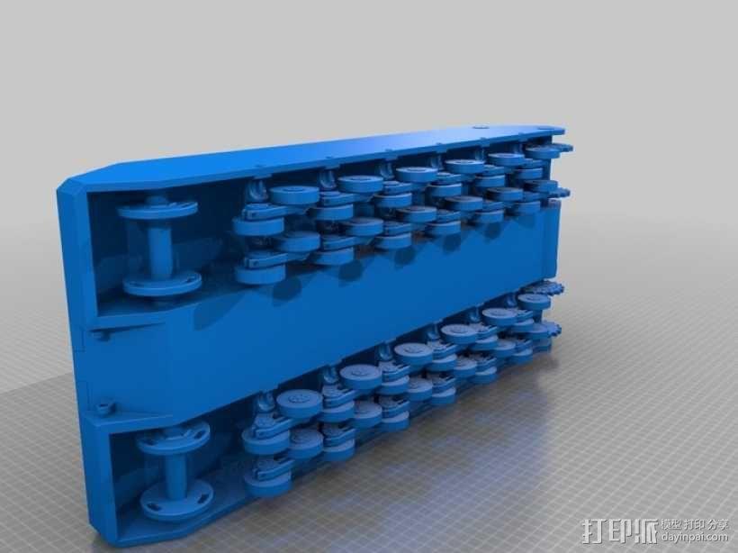 鼠式重型坦克 3D模型  图6
