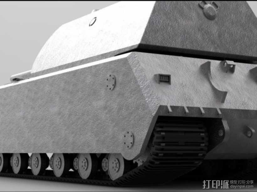 鼠式重型坦克 3D模型  图7