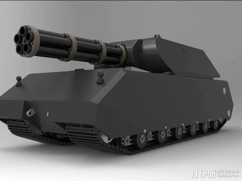 鼠式重型坦克 3D模型  图8
