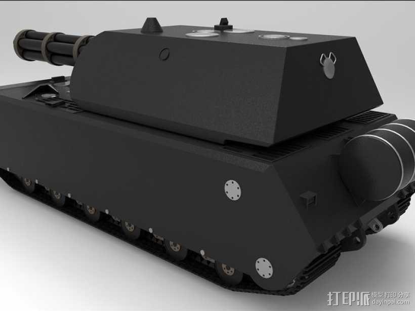 鼠式重型坦克 3D模型  图9