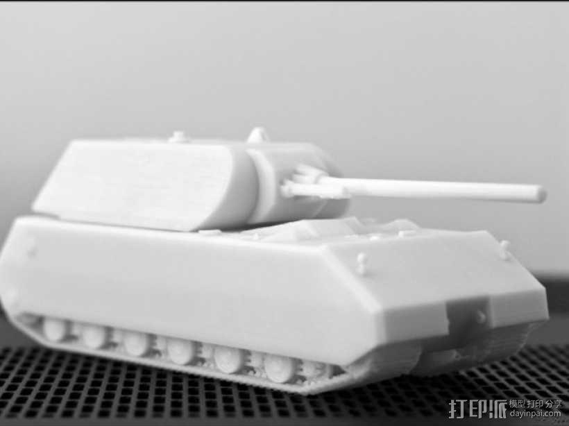 鼠式重型坦克 3D模型  图10