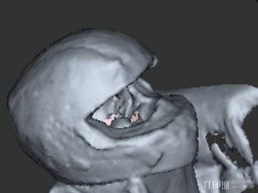日本昭荣头盔 3D模型  图2
