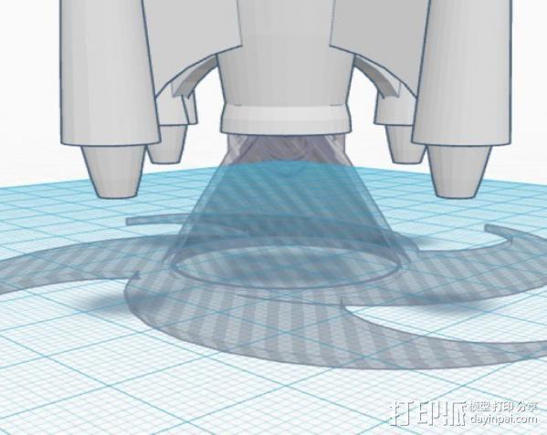 火箭发射底座 3D模型  图4