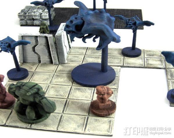 蝙蝠魔鬼 3D模型  图5