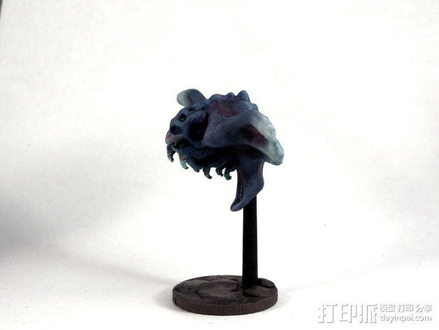 蝙蝠魔鬼 3D模型  图8