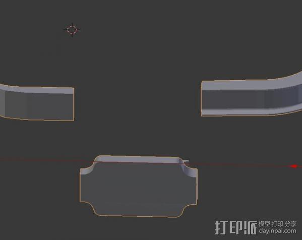 保险杠 捉鬼敢死队 3D模型  图5
