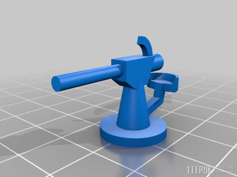 U型潜艇 3D模型  图4