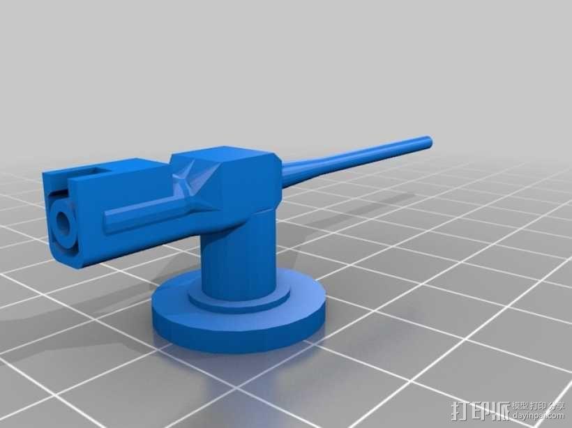 U型潜艇 3D模型  图5