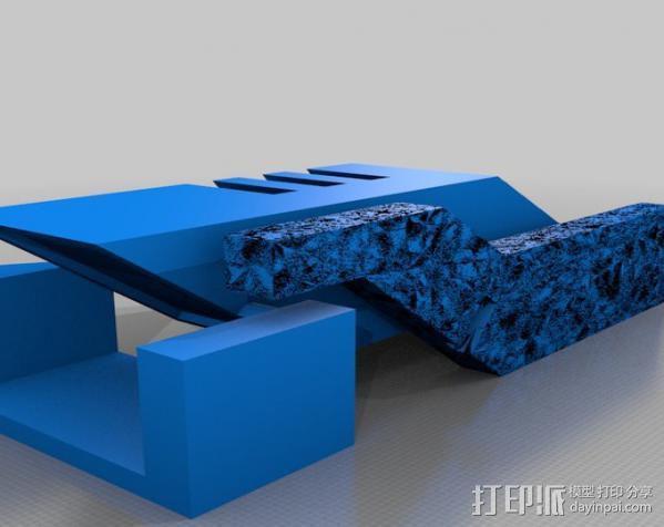 传送钥匙 3D模型  图3