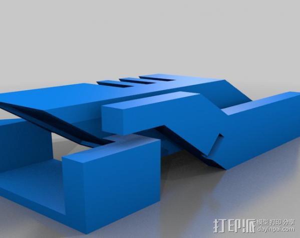 传送钥匙 3D模型  图2