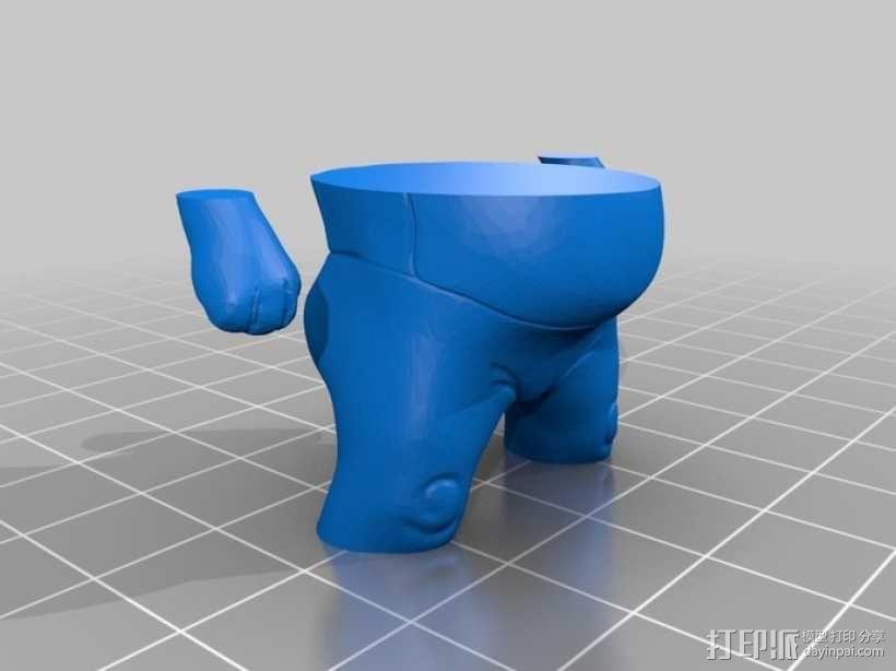 玩具外星人 3D模型  图2